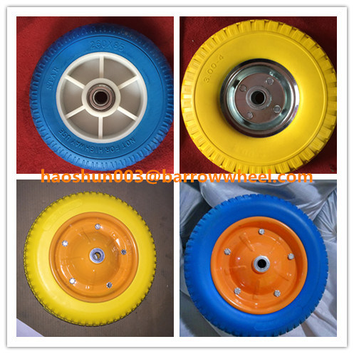 350-8 Rubber Wheel with Natural Rubber for Hand Trolley