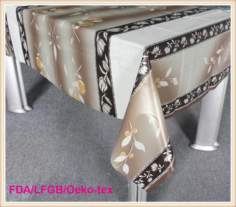 Luxury Wipe Clean Tablecloths PVC