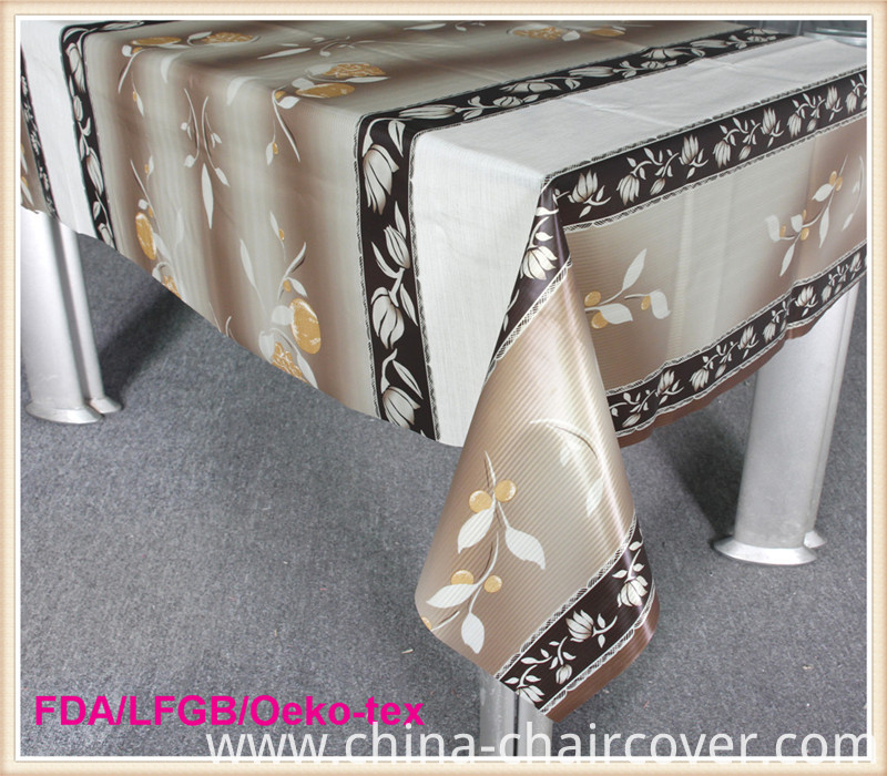 Luxury Wipe Clean Tablecloths PVC