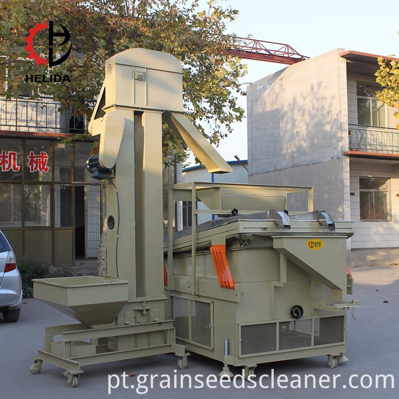 Gravity separator destoner machine