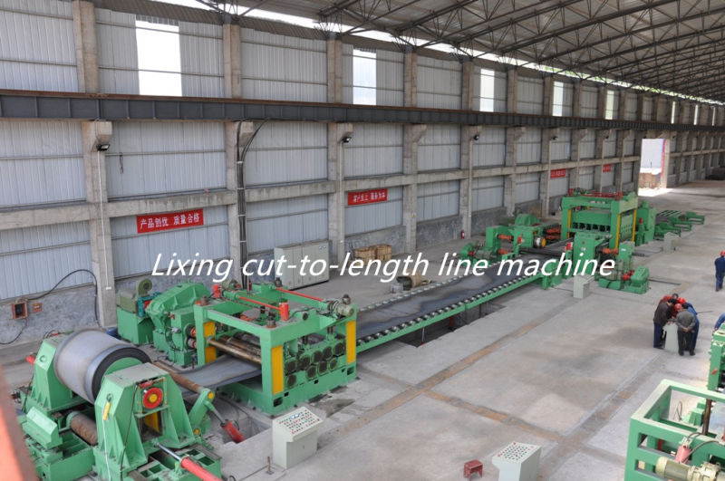 2-8mm Steel Strip Slitting and Cut to Length Machine
