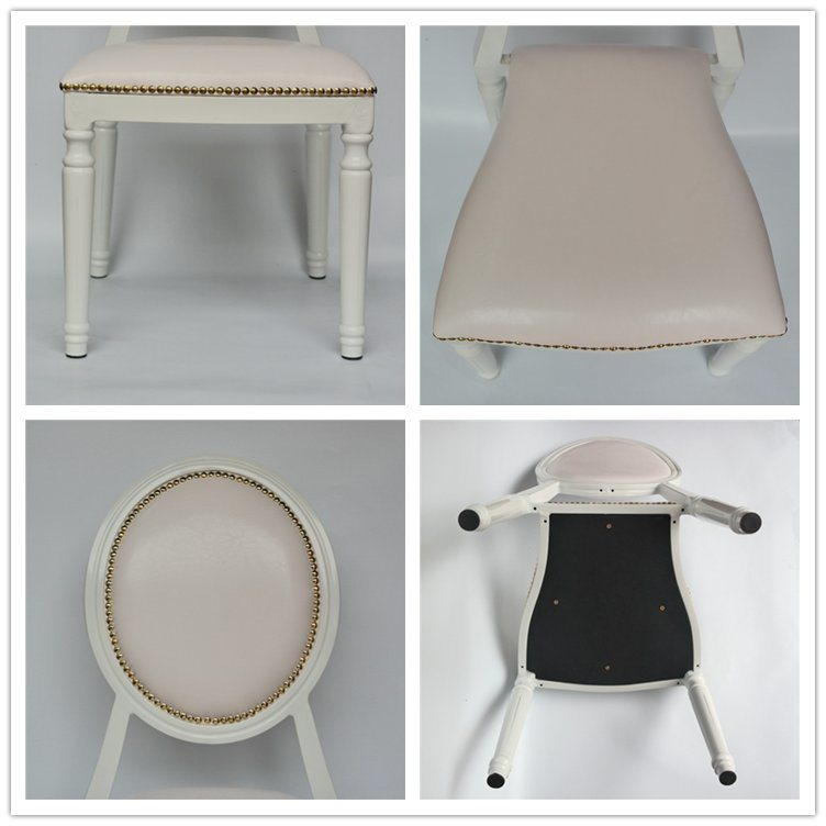 Restaurant Furniture Hotel Banquet Metal Imitated Wood Chair Yc-D07b