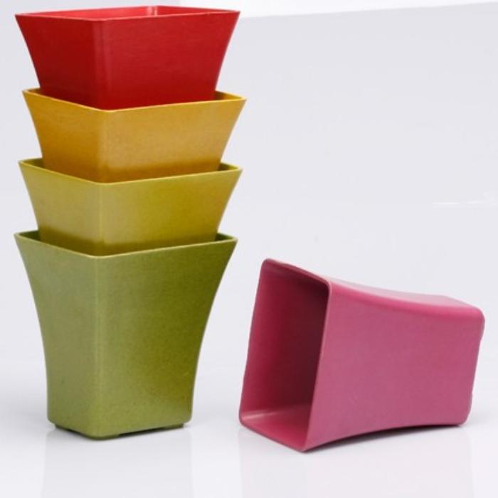 Fasionable Eco Bamboo Fiber Flower Pot (BC-F5010)