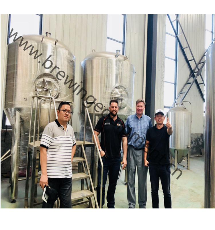 10bbl Lab Beer Manufacturing Machine with Steam Heating