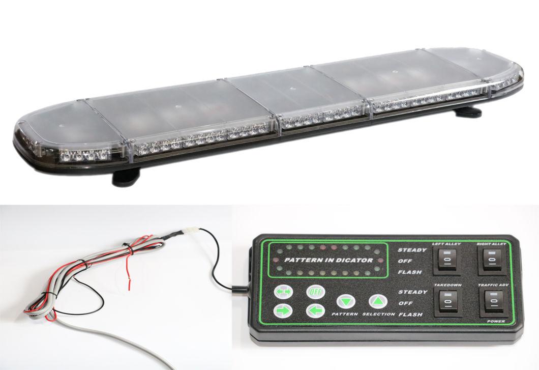 10-30V LED Strobe Rotating Flash Emergency Lightbar with ECE