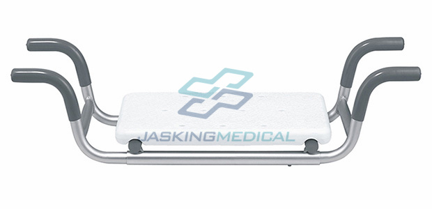 Portable Aluminum Bath Bench with Plastic Board (JX-604L-1)