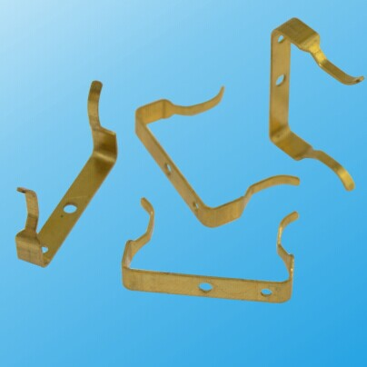 Custom Made Brass Electric Parts as Per Customer's Drawing (HS-BE-021)