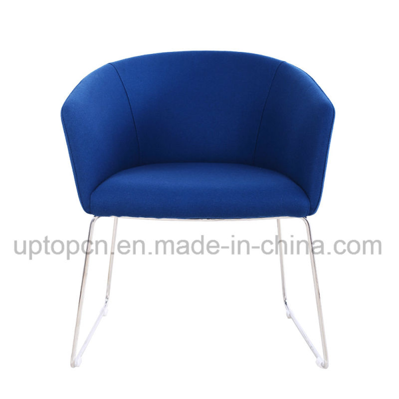 Artificial Marble Tulip Table and Fabric Armchair (SP-CT839)