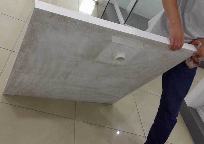Artificial Stone Shower Base/Shower Pan/Shower Tray (A-PM01)
