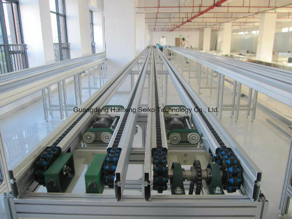 Anti -Static Roller Industry Chain-Double Plus Chain for Pallet Conveying