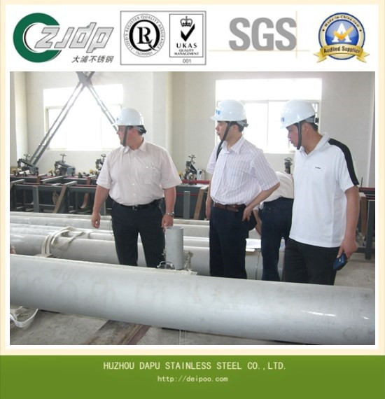 Uns S30403 Stainless Steel Pipe Tube China Manufacturer