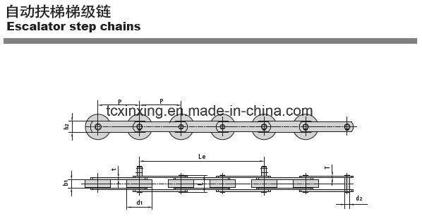 Mitsubishi Escalator Driving Roller Chain