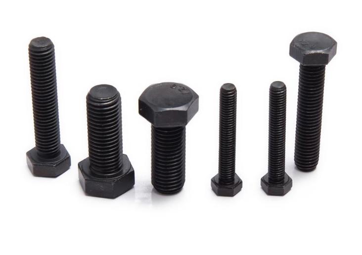 GB5783 Carbon Steel black oxide hex head bolt