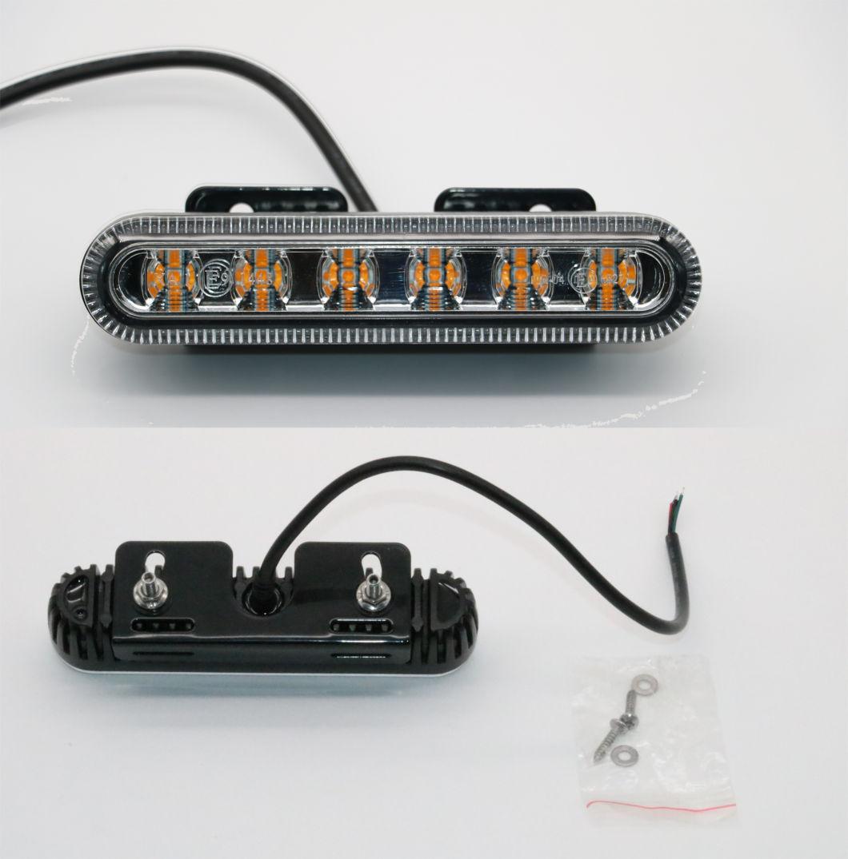 10-30V 18W LED Emergency Mini Signal Warning Lightbar with SAE