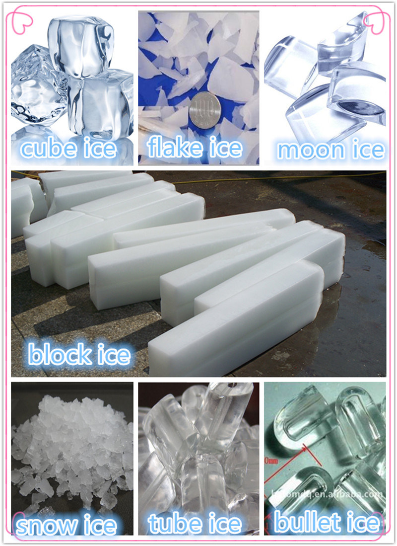3t/Day Cube Ice Making Machine for Commercial Application