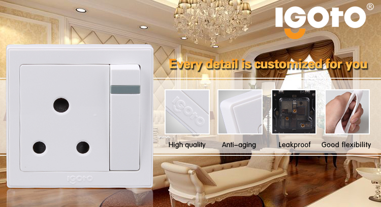 American Style Rj11 Telephone and Power Date Socket Outlet