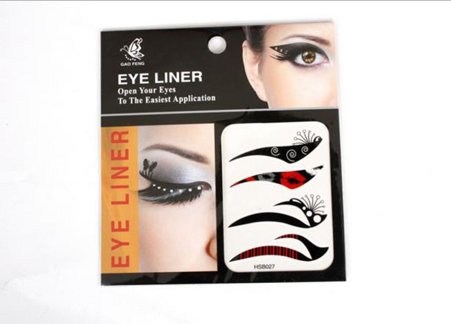Hot Sale Fashion Face Art Beauty Equipment Eye Art Eye Removable Stickers