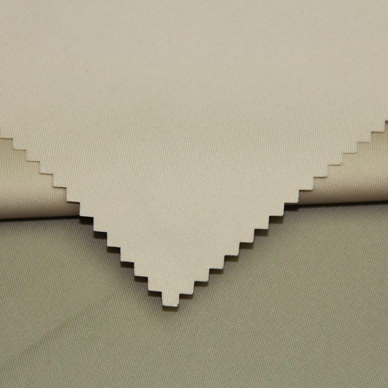 Polyester Semi Memory Fabric for Garment