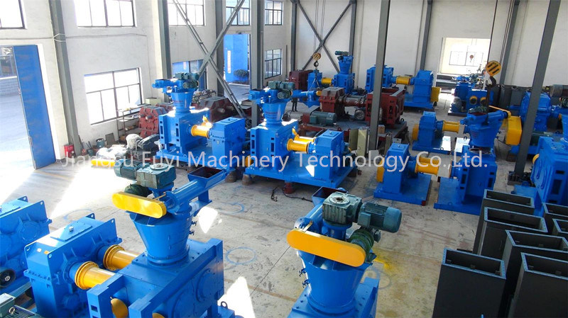 Dry roll press granulator/compactor for chemcials and fertilizer