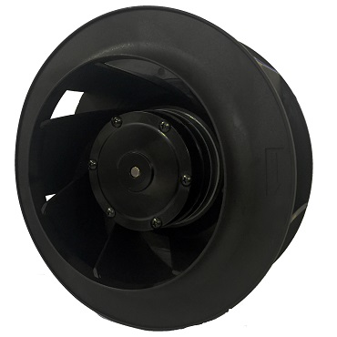 225mm Diameter X101mm AC Centrifugal Fans with Maintenance-Free Ball Bearings