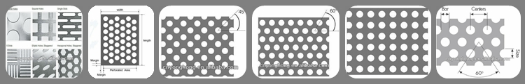 Round Hole Perforated Aluminum Sheet for Curtain Wall