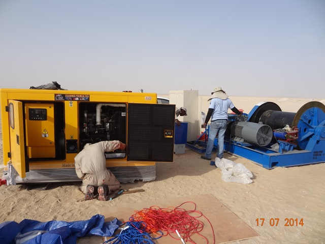 5t 1000m Winch for Tower Installation