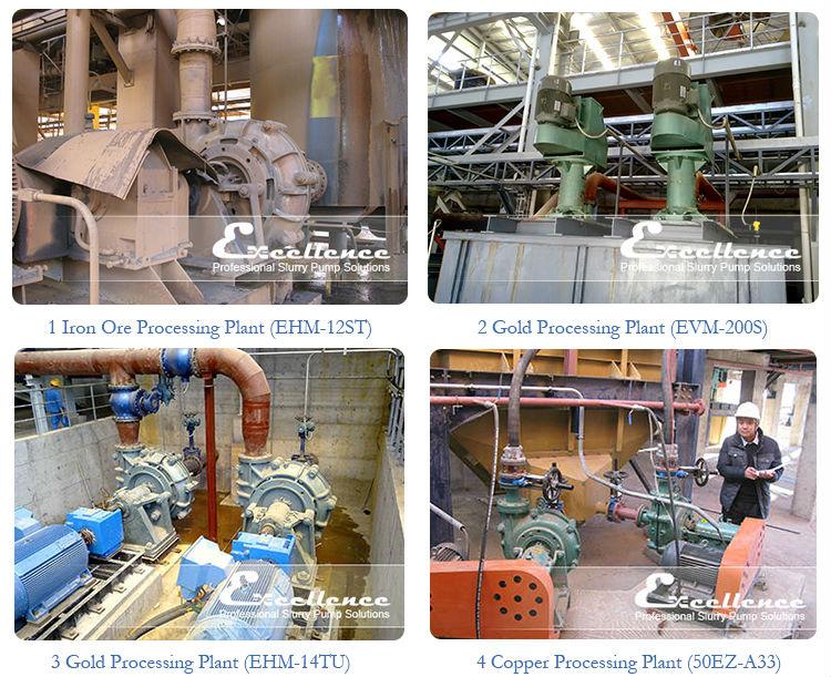 Mineral Processing Slurry Pump (EHR-4D)