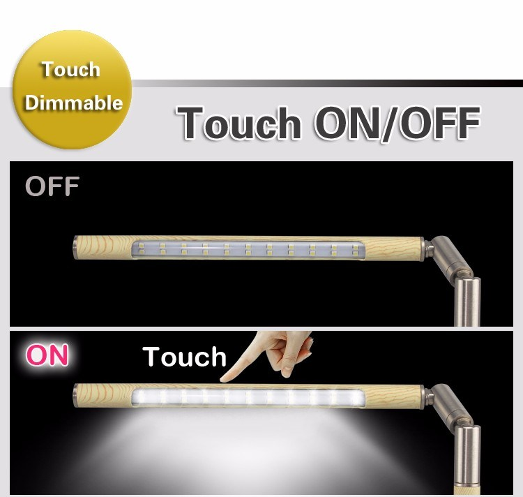LED Book Light Unique Folding Touch Desk Lamps LED Metal LED Table Lamps LED Reading Light LED Light