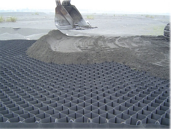 HDPE Geocell Used for Road Construction