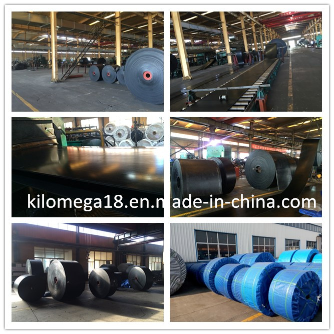 Rubber Conveyor Belt with Ep400/4 Exporting to Saudi Arabia