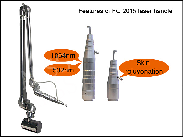Fg2010 Q-Switched ND YAG Tattoo Removal Laser Machine