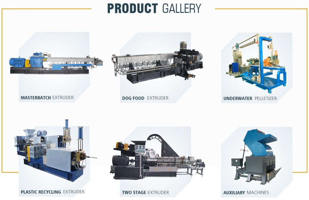 Plastic Compounding and Pelleting Co-Rotating Twin Screw Extruder