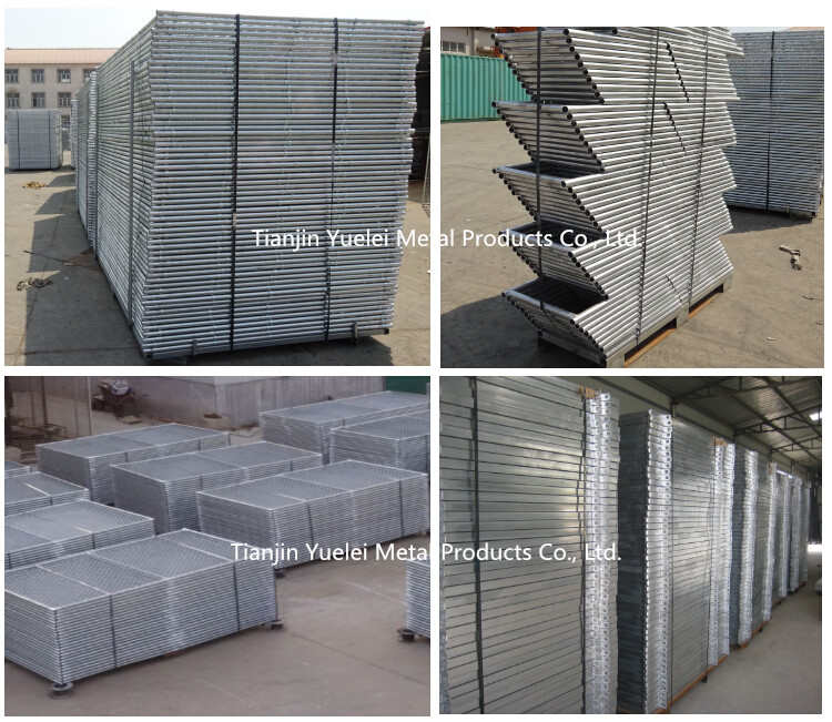 Heavy Duty Crowd Control Barrier for Sale/Sport Barrier Crowd Control Barrier/Removable Crowd Control Barrier