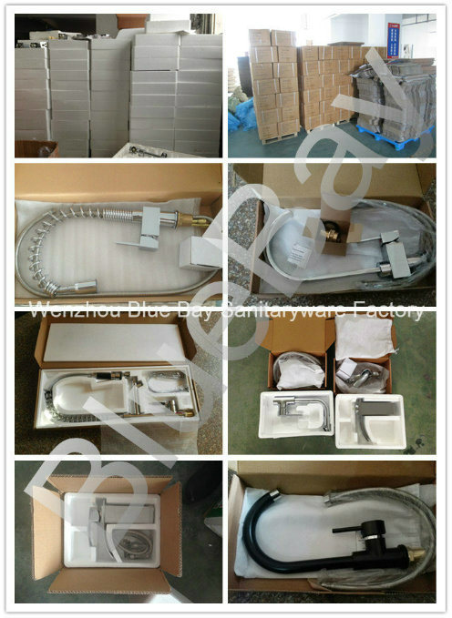 Popular Chrome Brass Sanitary Ware Kitchen Water Tap