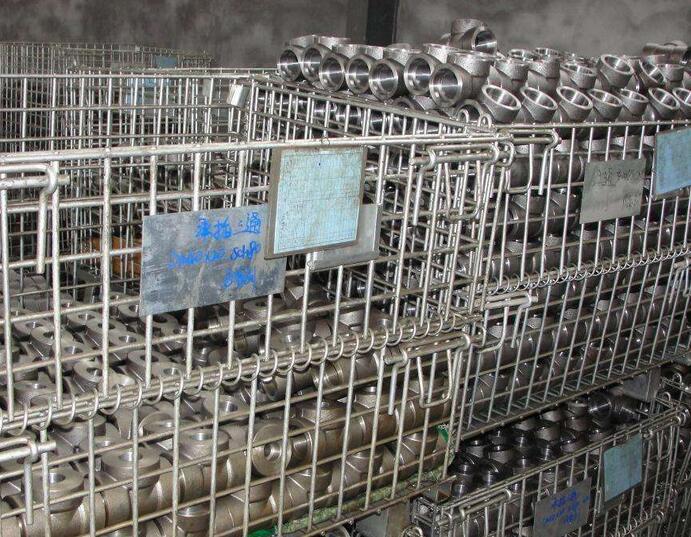 Pipe Fittings Carbon Steel Socket Tee