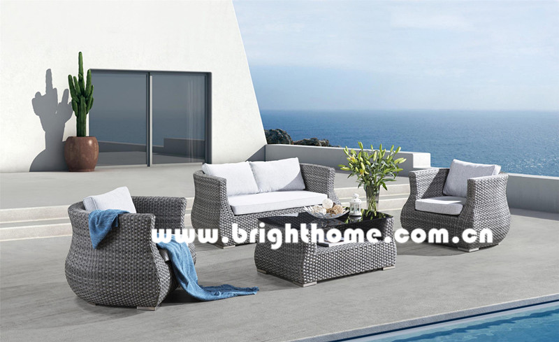 Hot Sale PE Rattan Wicker Outdoor Furniture Bp-897