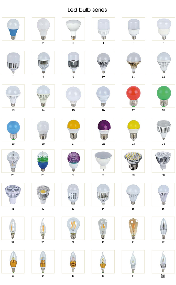 Factory Low Price 3W 5W 7W 9W LED SKD, LED Light, LED Bulb, LED Lamp