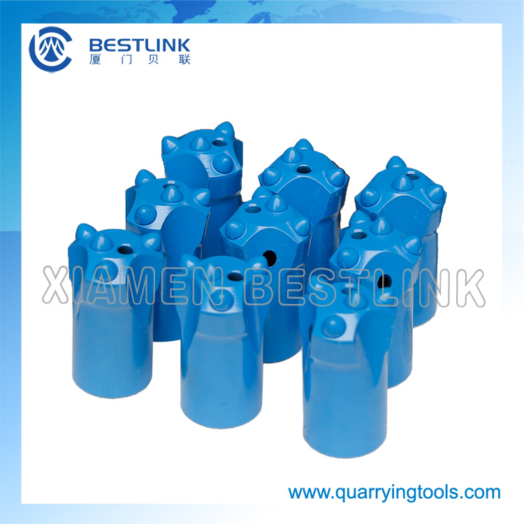 Small Hole Drillingtungsten Carbide Quarry Taper Button Bit