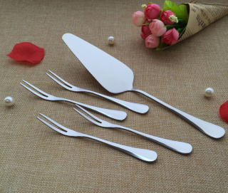 High Quality Cheap Stainless Steel Fork and Spoon Knife Set
