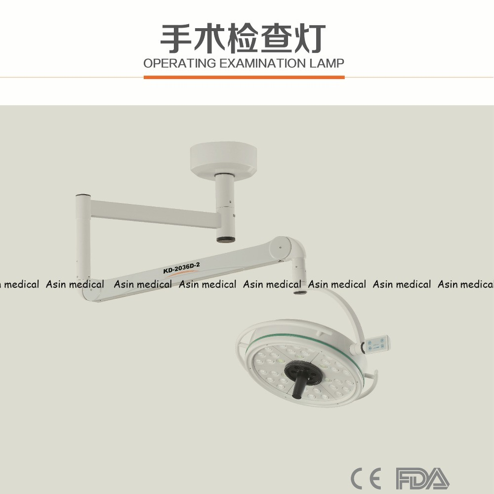 High Quality 108W LED Surgical Medical Exam Light 36 Holes LED Ceiling Examination Light Ce FDA Approval