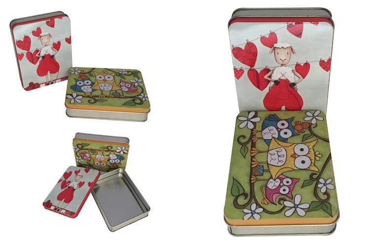 Gift Tin Box Custom Printing Metal Tin Container