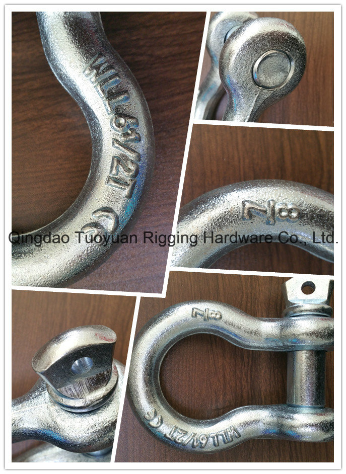Us Type Drope Forged Shackle G210 Shackle