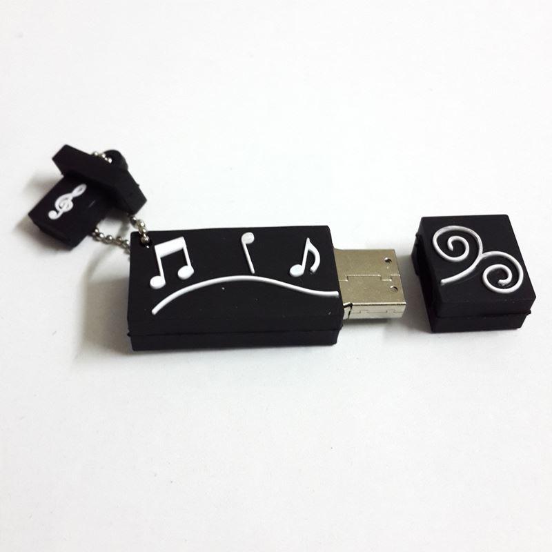Pvc Usb Keychain