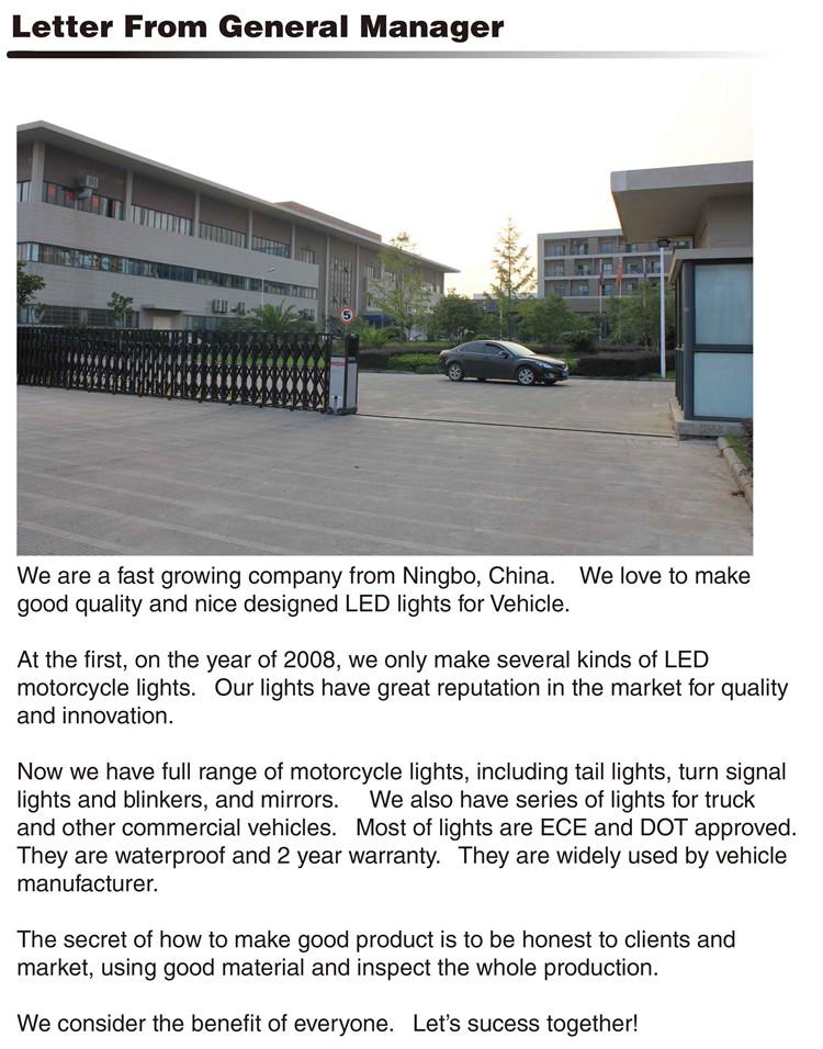 Ltl2513G IP67 Waterproof Marker Clearance Green Truck LED Lights
