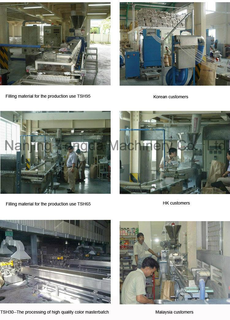 Eraser Making Machine Extruder for Granule