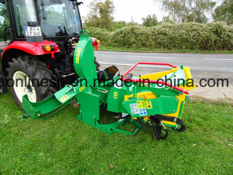 Professional 18 to 50HP or (13-37KW) Tractor Pto Wood Chipper/Chipper Shredder/Brush Shredder/Branch Shredder/Hydraulic Infeed, Chips Trunks up to 17, 5 Cm