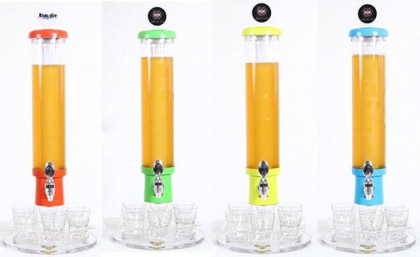 2.2L LED Beer Dispenser with Batteries