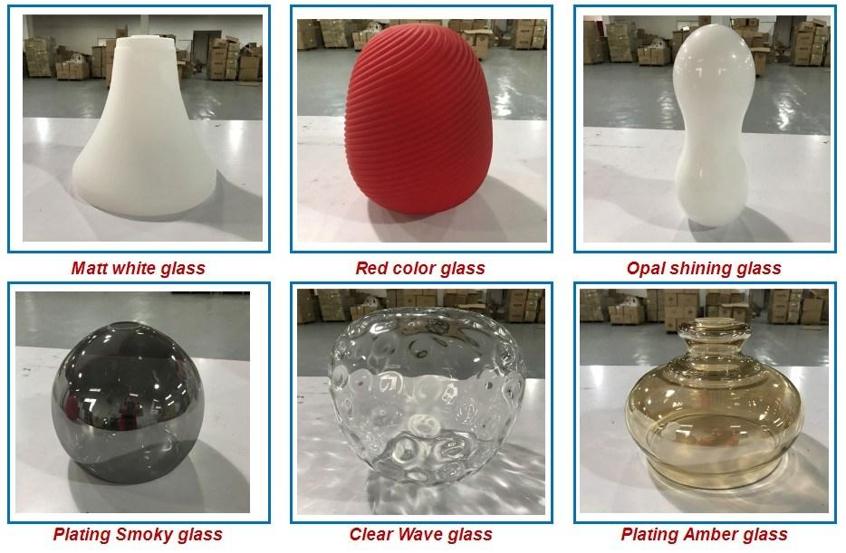 Square Glass Modern Simple LED Ceiling Light for Indoor Living