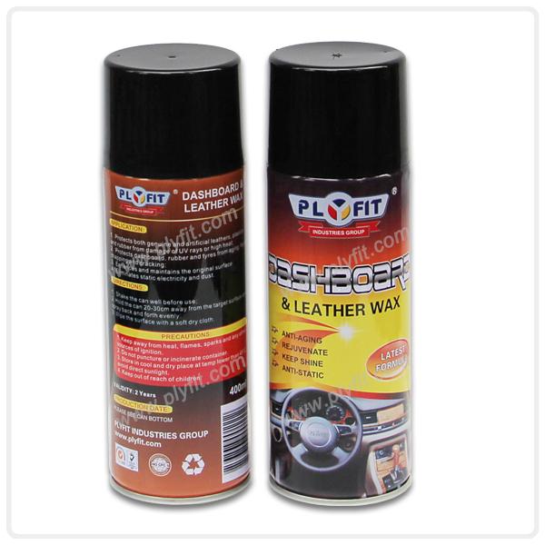 Car Dashboard Cleaner Aerosol Polish Spray Wax