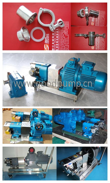 Lobe Pump, Lobe Rotor Pump, Stainless Steel High Viscosity Pump, Honey Pump